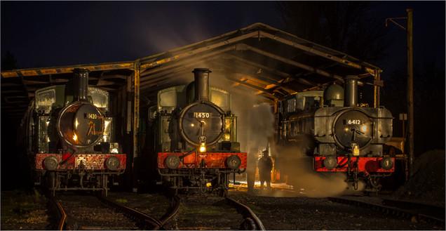 3rd - Three Engines by Christine Chittock