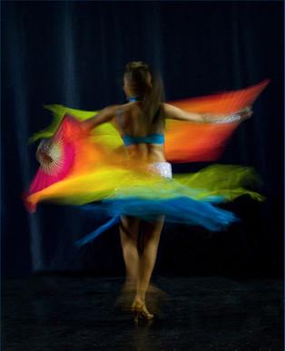 2nd -Spinning by Carol Hyett