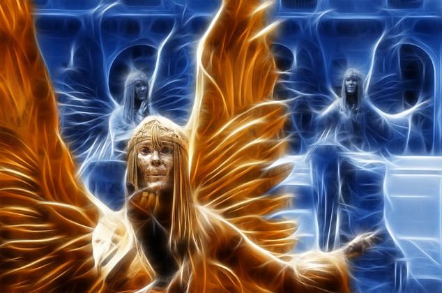 Archangel by Ian Bateman - 14 points