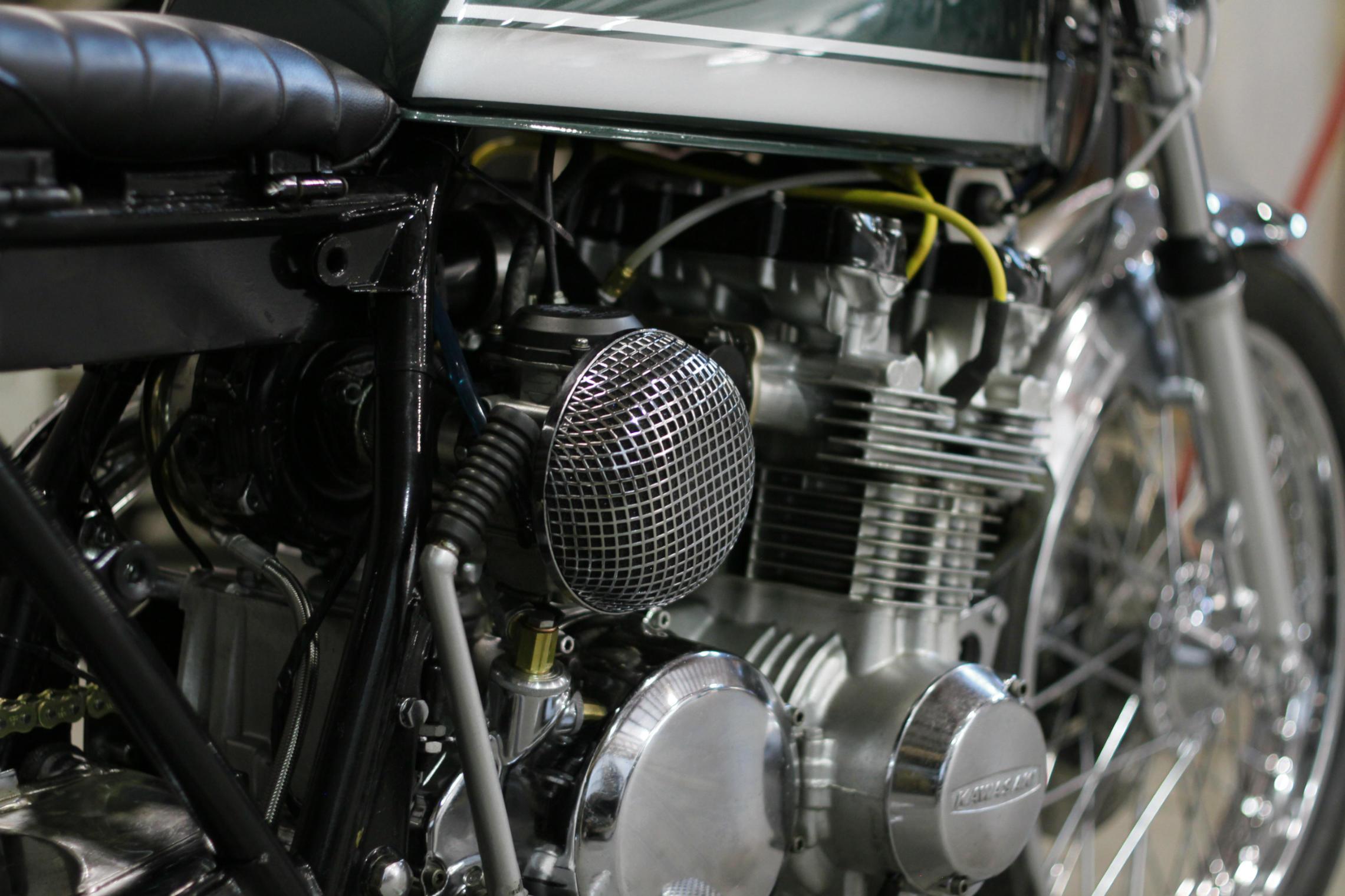 Magnum Opus | Custom Built Motorcycles | Land Rover Defender |