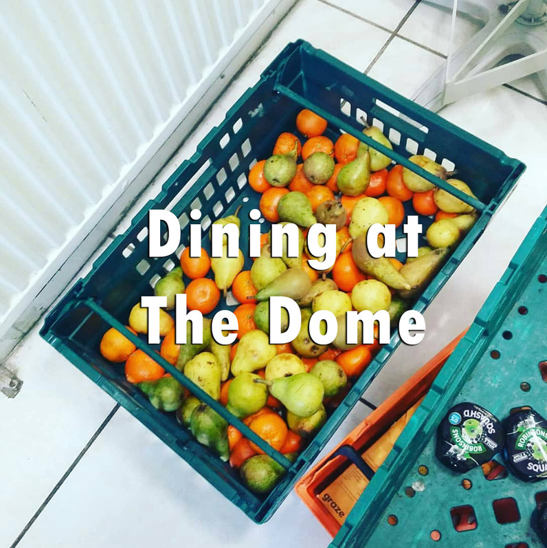 Dining at The Dome