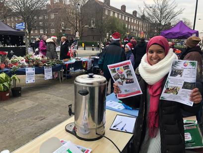 Camden Health Kick Outreach at Local Markets