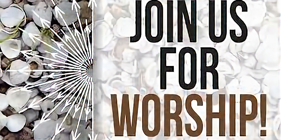 In Person Worship April 18, 2021