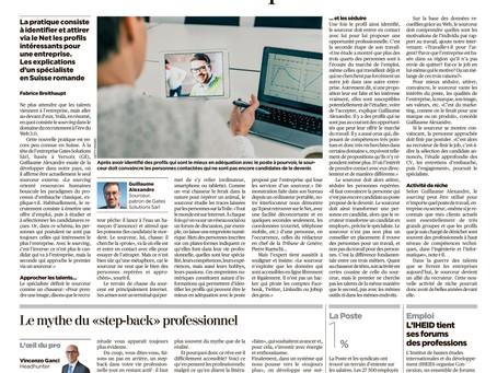 Gates Solutions dans la tribune de Genève
