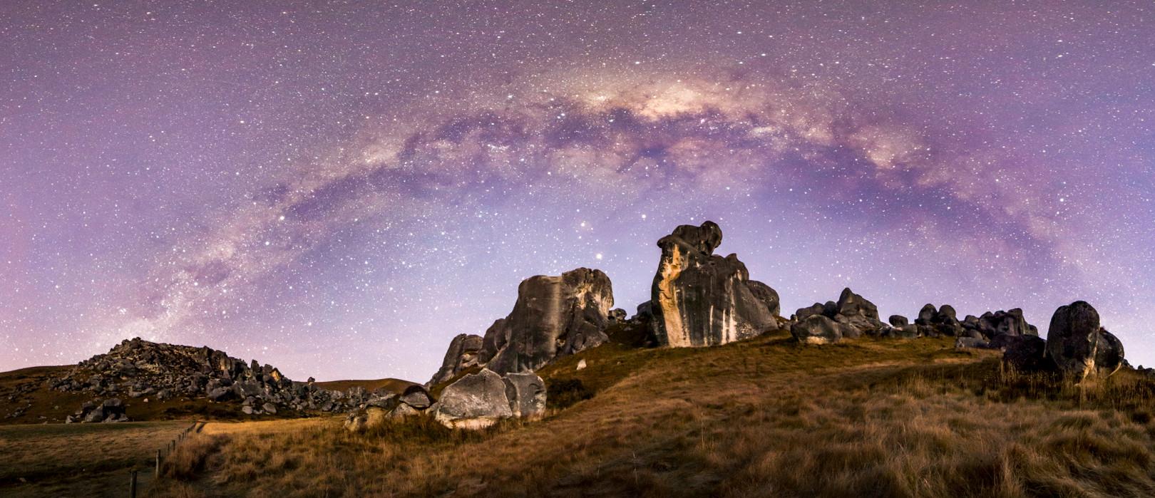 Castle Hill - Milky Way