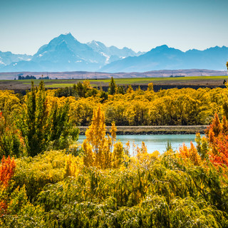 Twizel in the Autumn