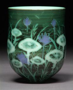 #53 Lotus Pond Vase