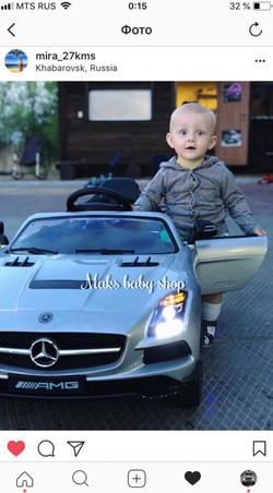 детский электромобиль в хабаровске