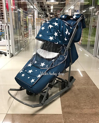 Санки-коляска Kristy Premium Pikate