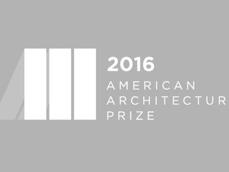 American Architecture Prize 2016