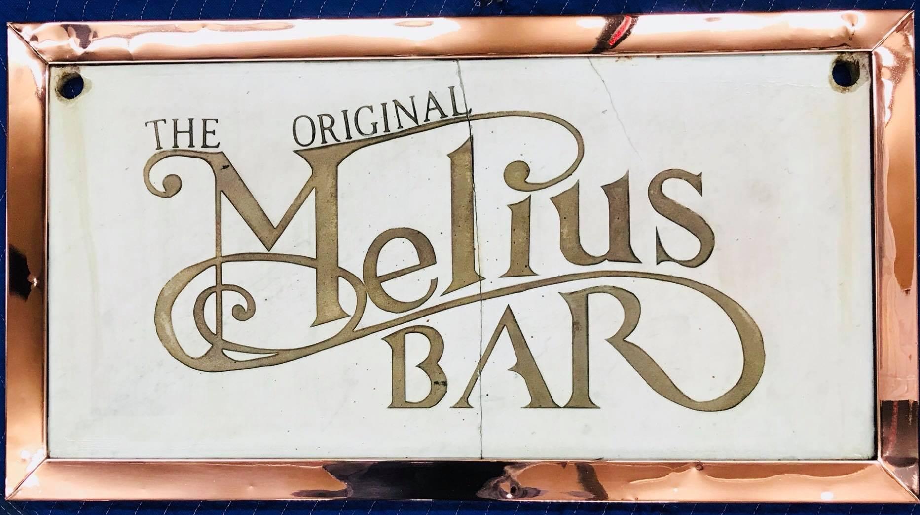 Melius Bar sign