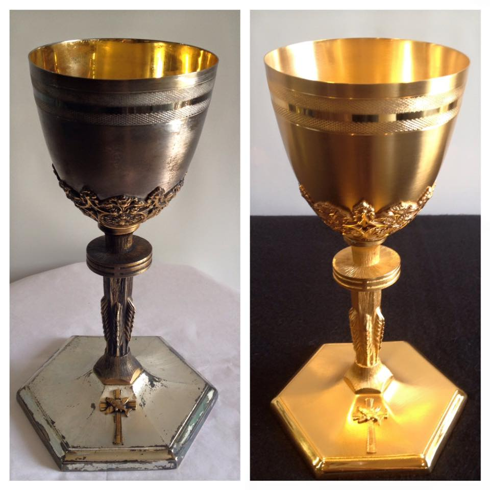 Before/after chalice