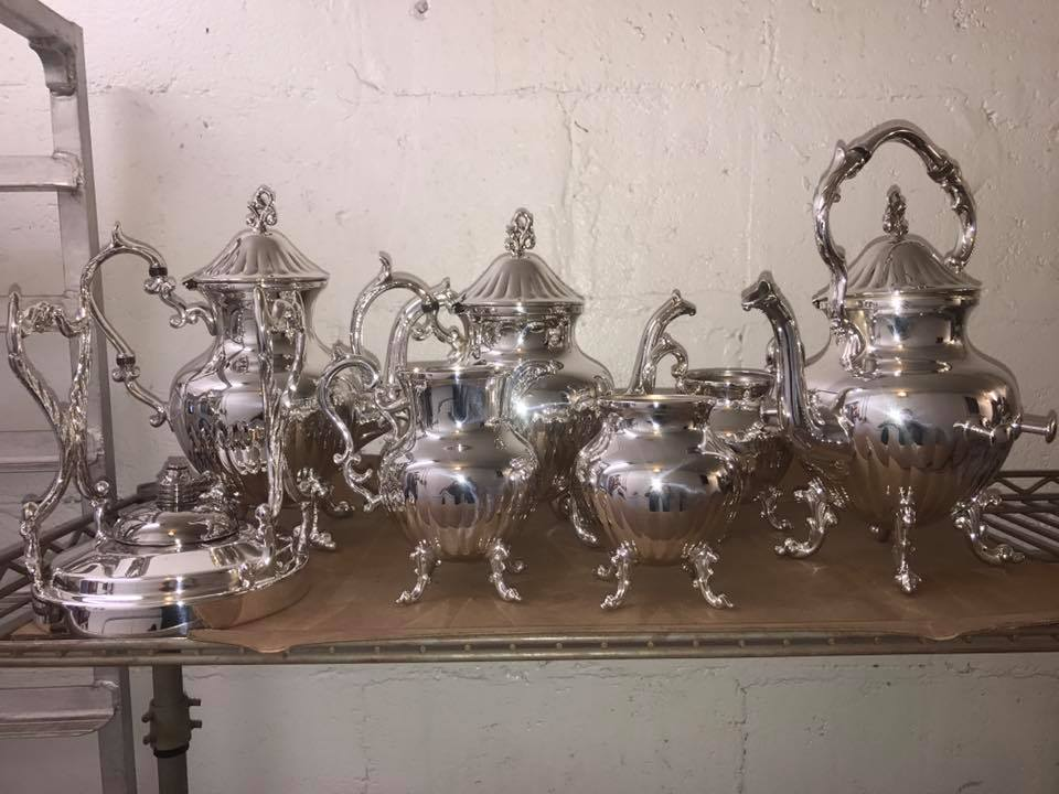 Complete tea service set