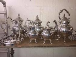 Complete tea service set