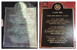 Before/after landmark plaque
