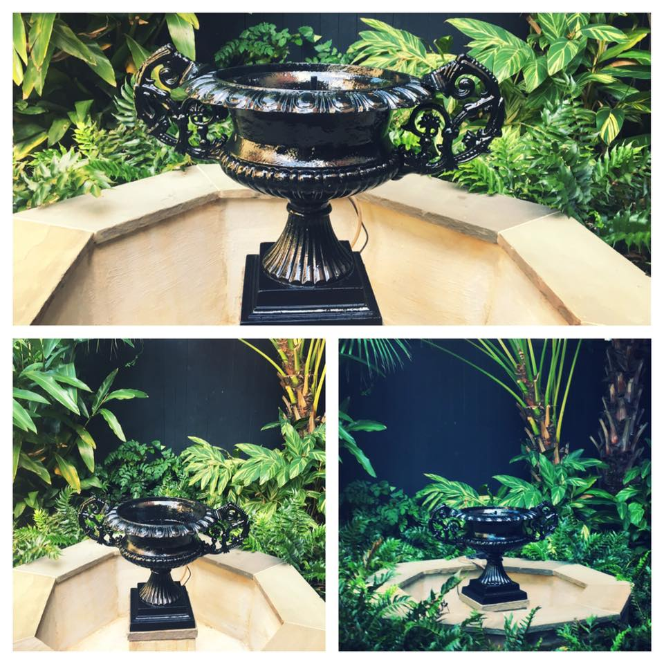 Iron fountain