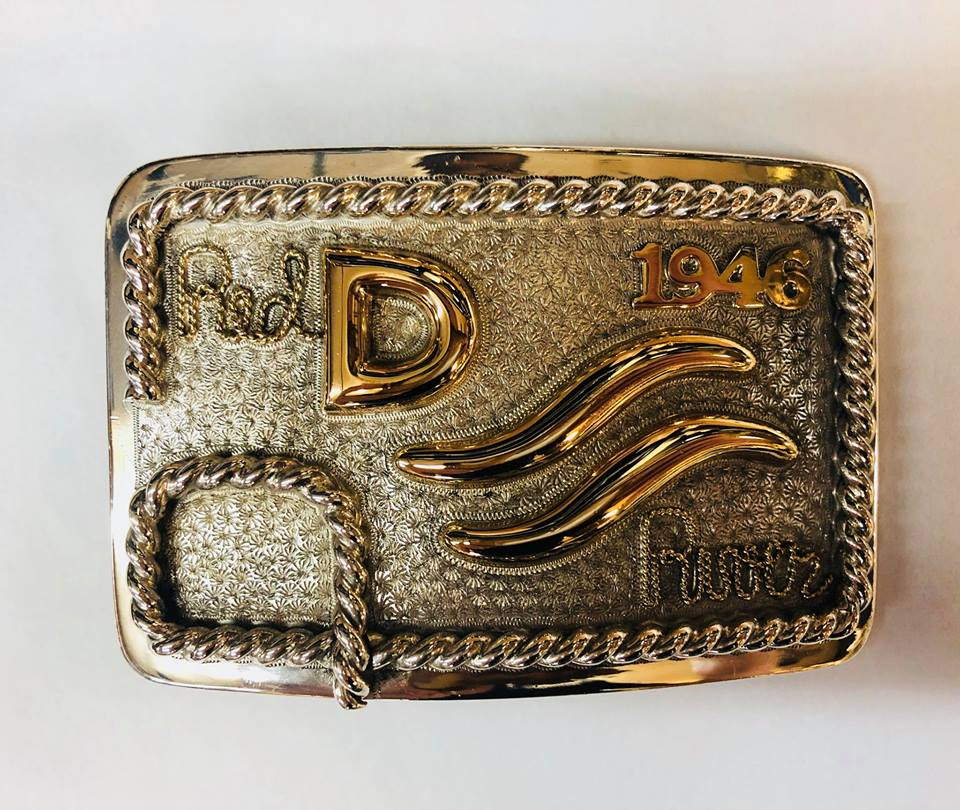 John Wayne 1946 belt buckle