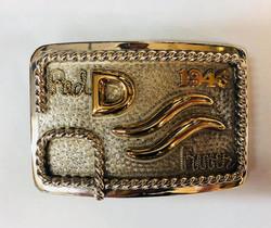John Wayne 1946 belt buckle