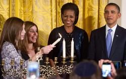 The White House menorah