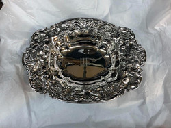 Sterling oval tray