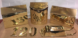 Brass Mailboxes & House Numbers
