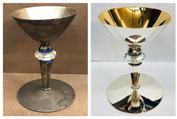 Before/after Sapphire chalice