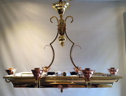 Brass/Copper kitchen light fixture