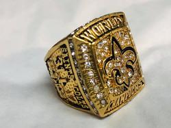 Replica Saints Super Bowl ring