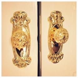 Brass antique hardware