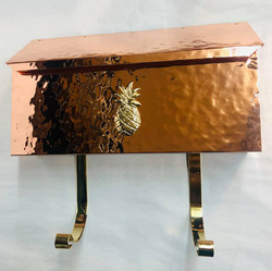 Rare Copper pineapple  mailbox