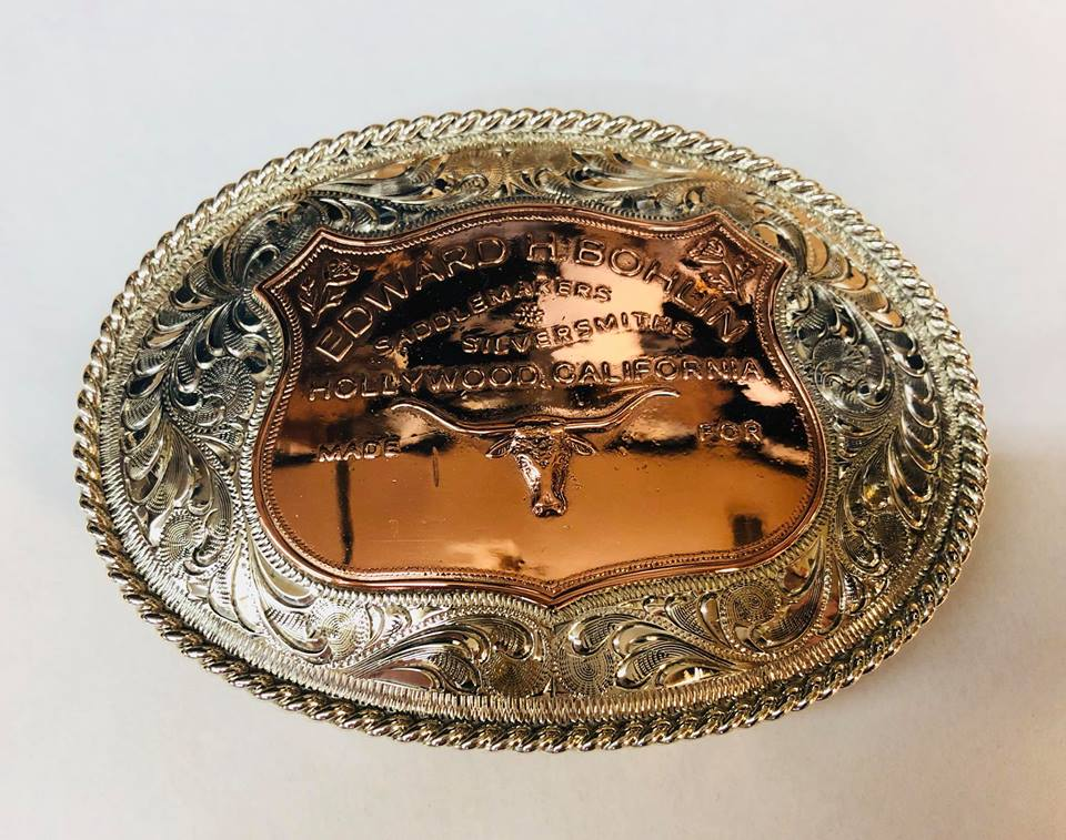 Silver (Copper emblem) belt buckle