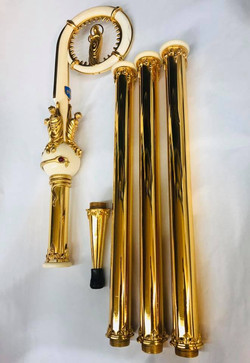 Bishop's Sterling French crozier