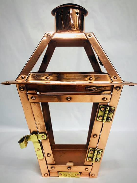 Copper Bevelo lantern