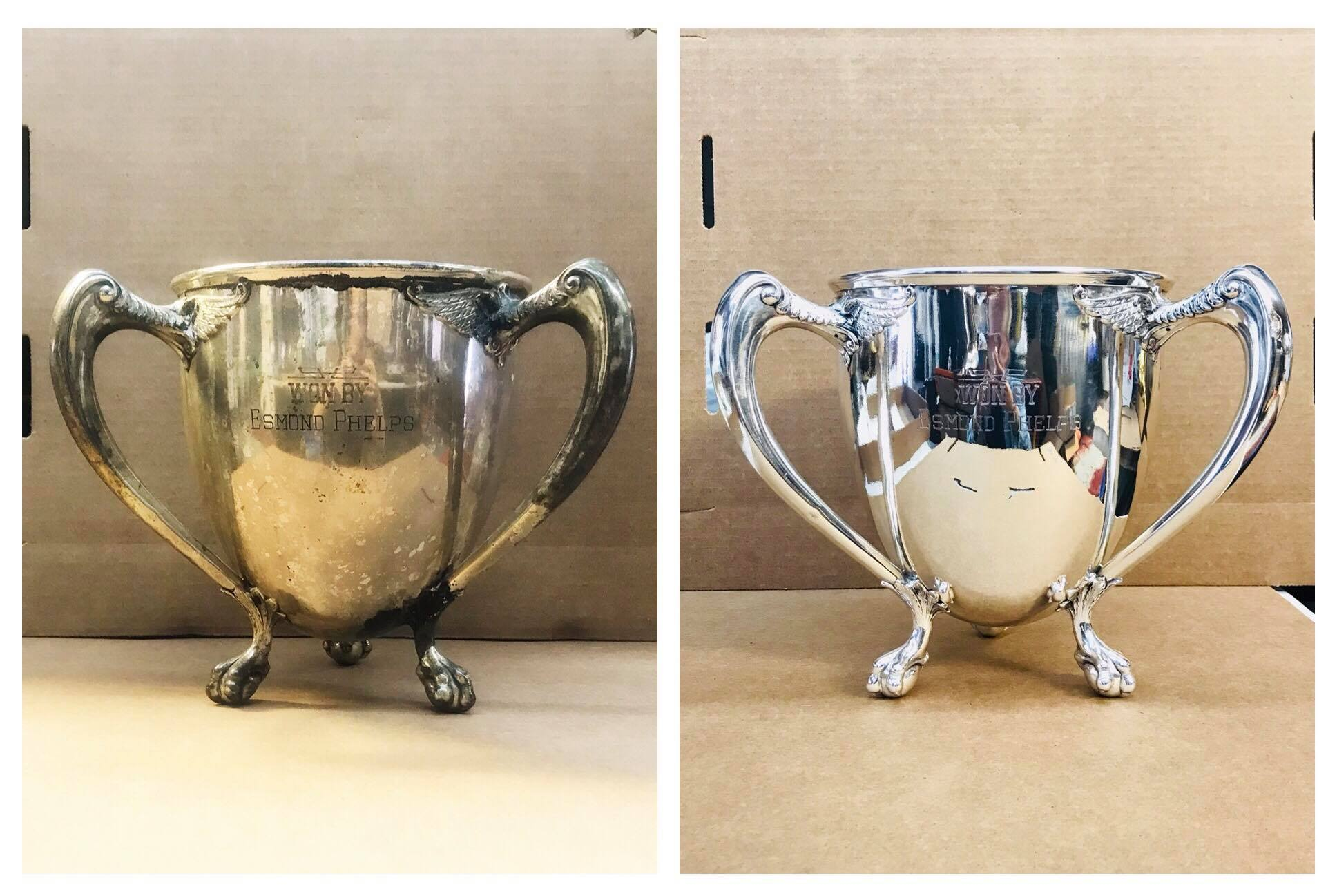 Before/after Sterling trophy