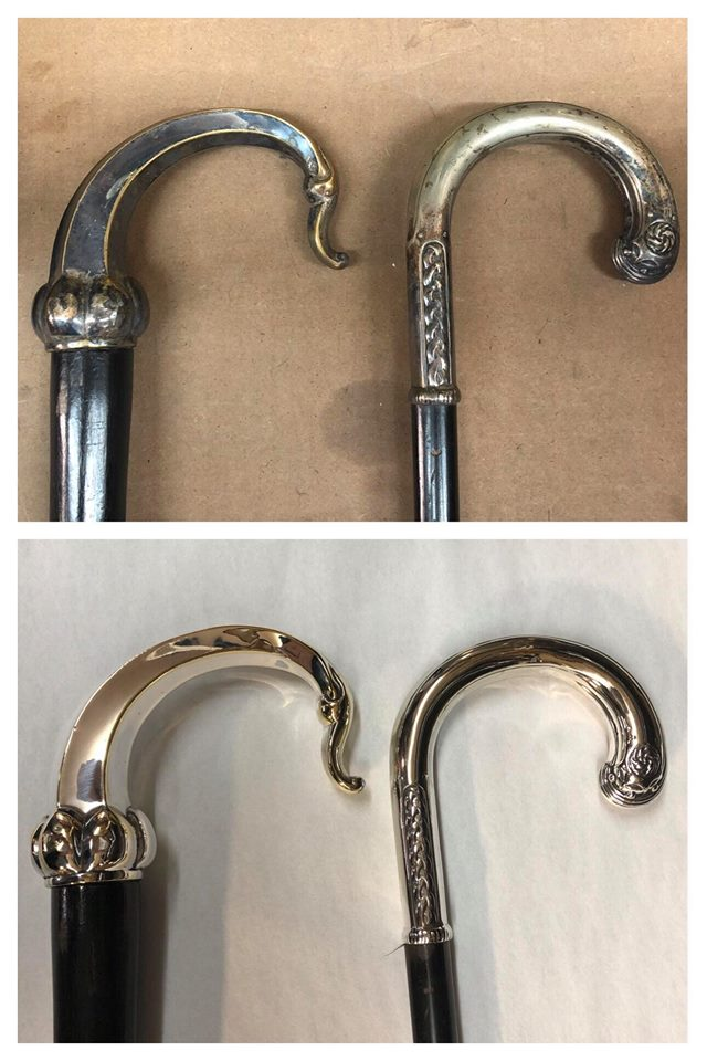 Antique walking canes