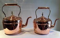 Copper tea kettles