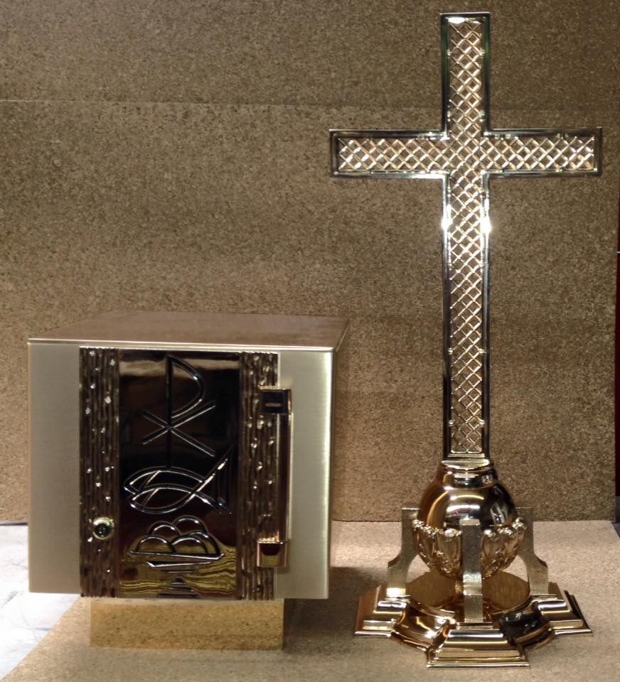 tabernacle and cross st alphonsus