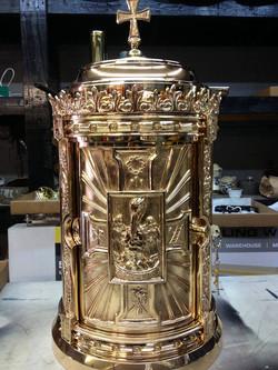 Bronze tabernacle