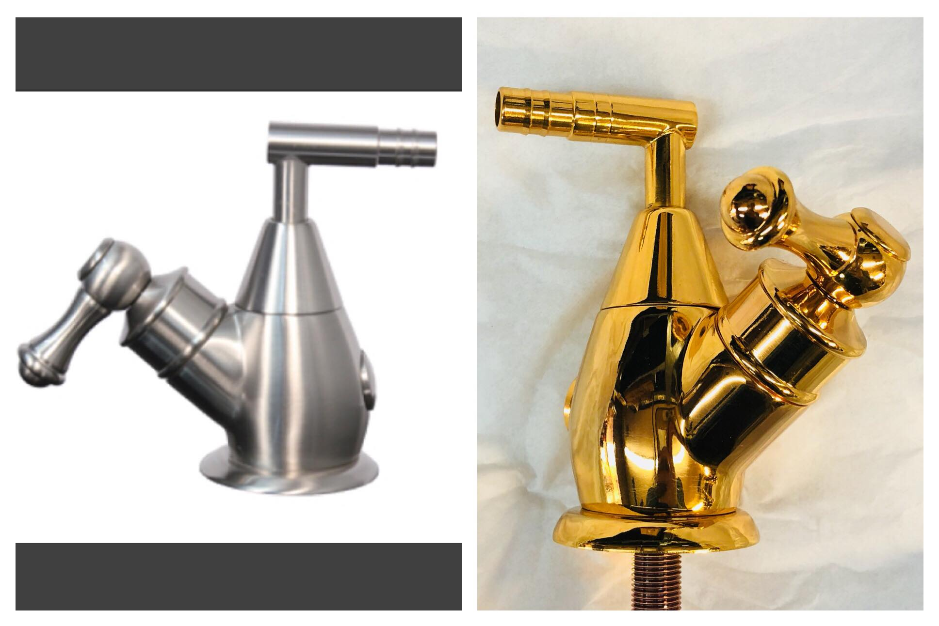 Before/after ion faucet