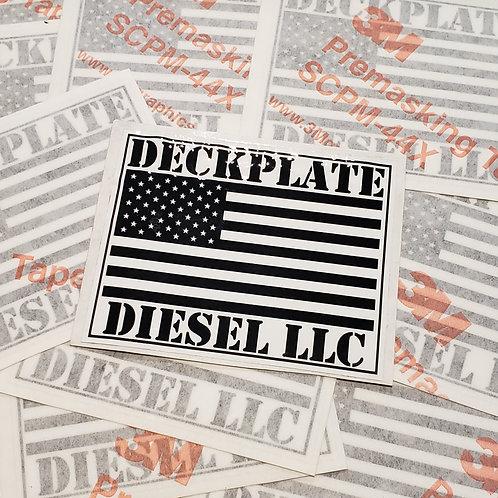 Deckplate Diesel Decal