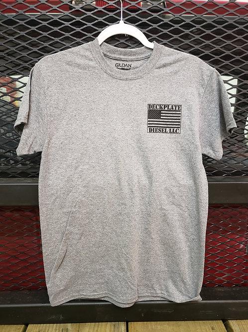 Gray Deckplate Diesel T-shirt