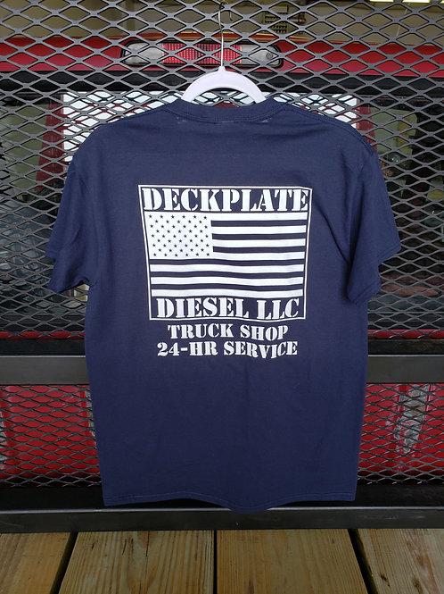 Blue Deckplate Diesel T-Shirt