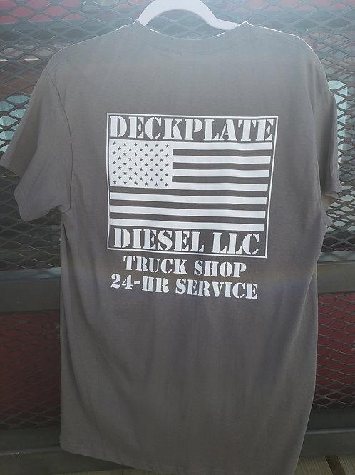 Graphite Deckplate Diesel T-Shirt