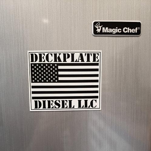 Deckplate Diesel Magnet