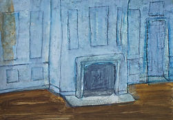 The Blue Room at the ancestral home two