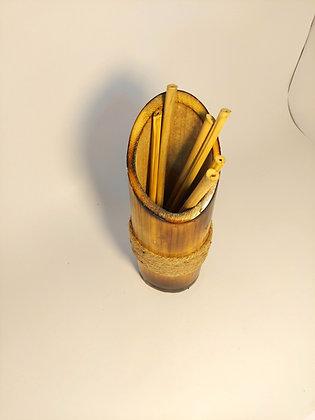 Bamboo Straws, 7 inch