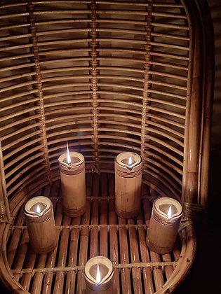 Multipurpose Ecofriendly Bamboo Diyas 6 inch