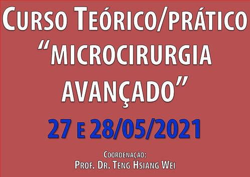 27 e 28 de Maio - Curso Avançado de Microcirurgia