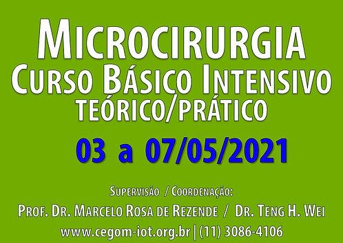 03 a 07 de Maio - Curso Básico Intensivo de Microcirurgia