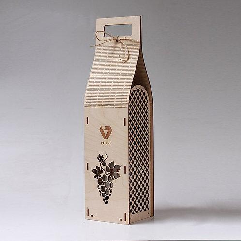 Коробка для вина с ручками